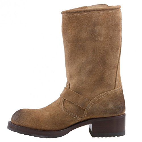 Bottes biker 4380 boots marron