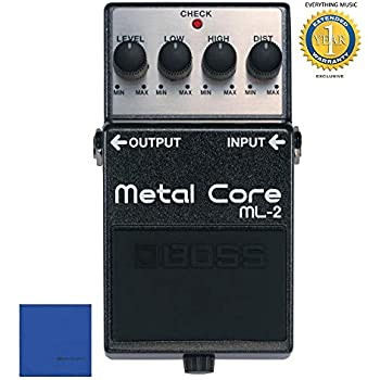 Boss ML-2 Metal Core Distortion Pedal with 1 Year Free Extended Warranty