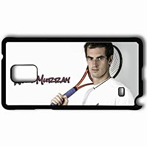 Personalized Samsung Note 4 Cell phone Case/Cover Skin Andy Murray Case 4978 Black