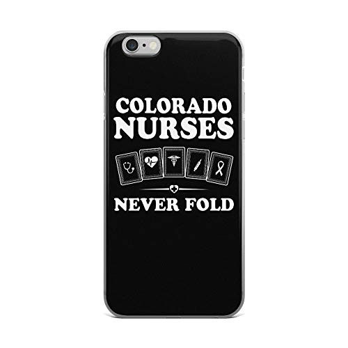 iPhone 6 Plus/6s Plus Pure Clear Case Cases Cover Colorado Nurses Medicine Symbol Inspirational Quote