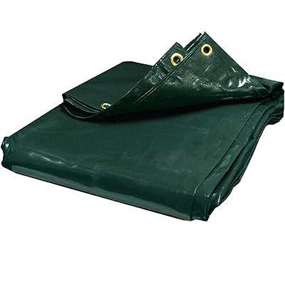 Green PVC Vinyl Tarp Industrial Canopy Tent Car Boat Cover (6x20) : Garden & Outdoor