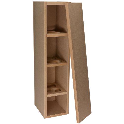 Knock-Down MDF 1.16 ft³ Tower Speaker (Mdf Speaker Cabinets)
