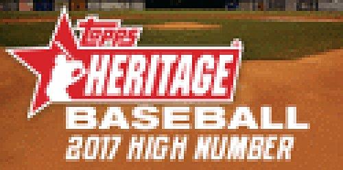 2017 Topps Heritage Baseball High Number Blaster Box (8 Packs of 9 Cards) ()