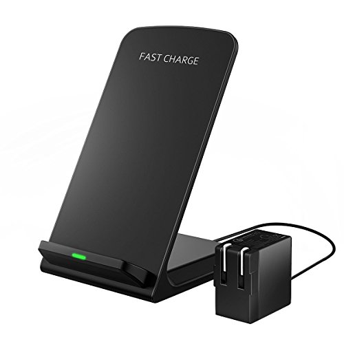 Fast Wireless Charger With Qc 3 0 Wall Charger Adapter