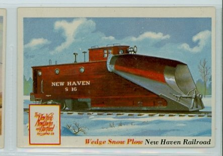1955 Rails and Sails 31 Wedge Snow Plow Excellent to Excellent Plus ()