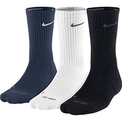 Price comparison product image Nike 3 Pack Dri-Fit Cushion Crew Sock