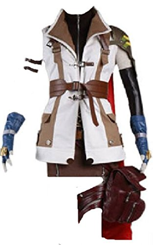 Mister Bear Final Fantasy 13 Lightning Cosplay Costume Sword