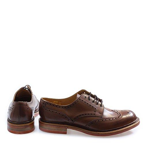 Stringate Colour Size marrone Marrone Uomo Scarpe Loake 5qnpw61tUx