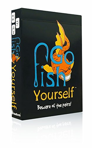 Go Fish Yourself Party Game (Easy Card Games To Play By Yourself)