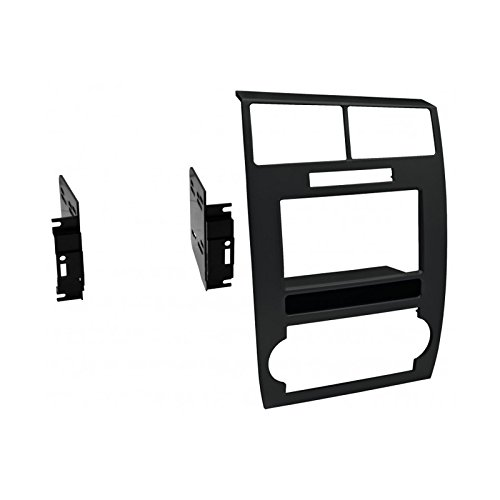 (American International CDK639 Double DIN Dash Panel Kit for 2006-2007 Dodge Charger and 2005-2007 Dodge Magnum (Black))