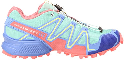 Salomon Blue Shoes Synthetic Green Turquoise 3 Speedcross Running Trail Blo Women's Petunia Lucite W Türkis Melon rwq0rO