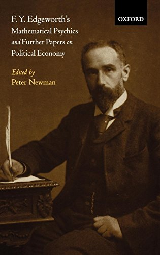 F. Y. Edgeworth's  Mathematical Psychics and Further Papers on Political Economy