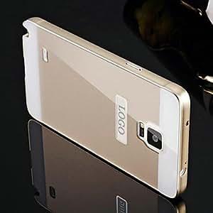 Teléfono Móvil Samsung - Cobertor Posterior/Contra Golpes - Color Sólido - para Samsung Galaxy Note 4 ( Negro/Rojo/Dorado/Plateado , Plástico/Metal ) , Black