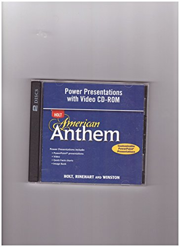 American Anthem: Power Presentations with Video CD-ROM