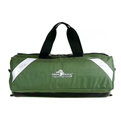 Image of Iron Duck 36002D-GN Oxygen Bag for Class D Oxygen Tank, Nylon, Green…Registered with Defense Logistics Under NSN 6515014724656…Made in The USA! Luggage
