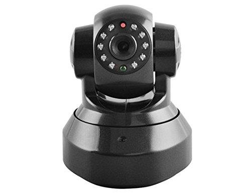 E6810 P2P 720P HD Wireless IP Camera with IR Night Vision, Motion Detecting & TF Card (Black)