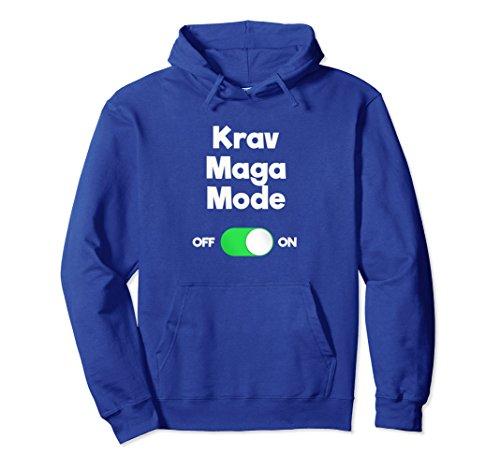 Unisex Krav Maga Self-Defense Funny Mode Hoodie Shirt 2XL Royal Blue ()