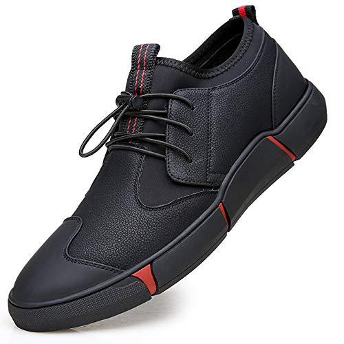 LOVDRAM Stiefel Männer Winter Herrenschuhe Herrenschuhe Herrenschuhe Baumwolle Schuhe Casual Bord Schuhe Leder Rutschfeste Weiche Boden Wilde Mode Herrenschuhe Warm Zu Halten 8af161