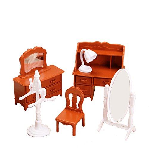 1:12 Simulation Dresser Set Playhouse Props Dollhouse Creative DIY Material