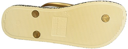 Ipanema Anatomica Soft, Chanclas para Mujer Mehrfarbig (beige/gold)