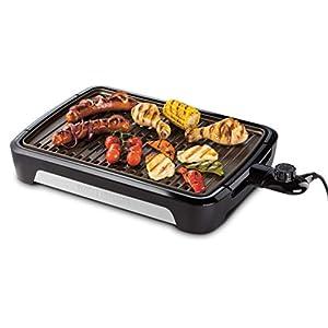 George Foreman 25850-56 Smokeless BBQ Grill, Niente Fumo per utilizzo in casa, Piastra e Vassoio Lavabili in… 10