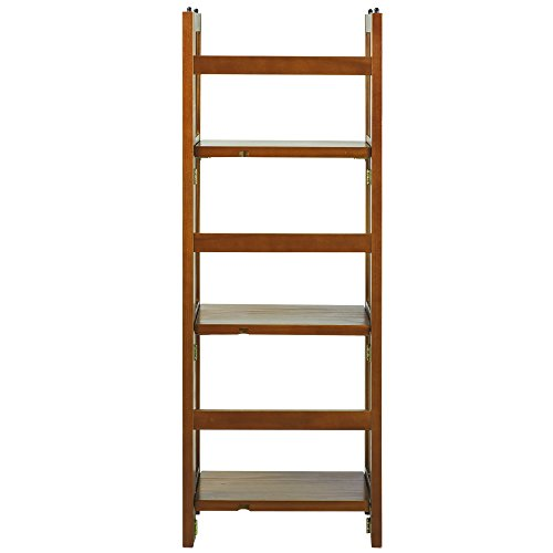 Casual Home 3-Shelf Folding Bookcase (14