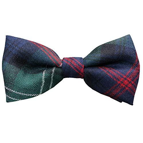 Ingles Buchan Mens Scottish Wool Tartan Pre-Tied Bow Tie Sutherland Old