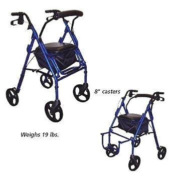 Amazon.com: Duet Transporte Silla/Rollator – Duet silla de ...