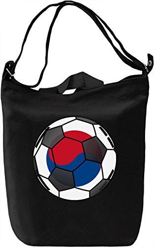 South Korea Football Borsa Giornaliera Canvas Canvas Day Bag| 100% Premium Cotton Canvas| DTG Printing|