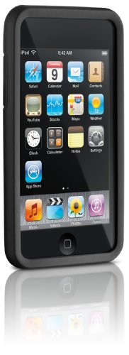 DLO Jam Jacket Grafik for iPod touch 2G, 3G (Black with Deboss Flora) - Dlo Surface Shields