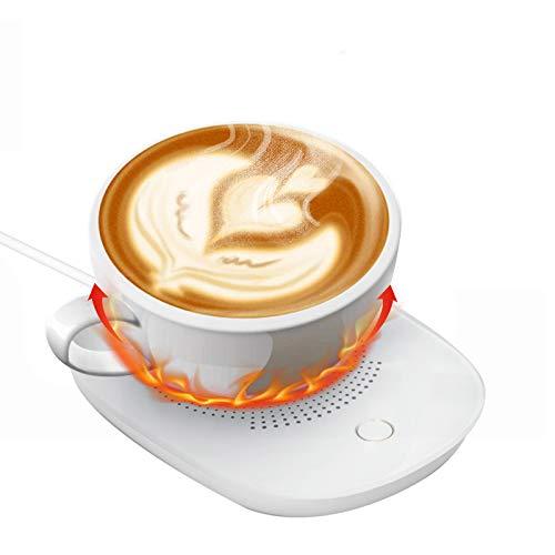 Coffee Mug Warmer, Electric Coffee Warmer for Office Desk, Electric Beverage Warmer with Auto Shut Off, Smart Coffee…