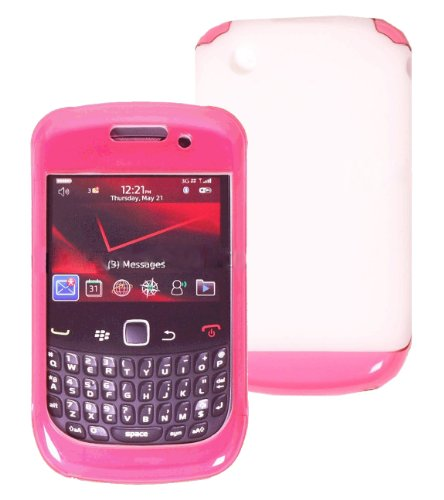 Blackberry Curve 9300 9330 8530 Double Cover Case Pink ()