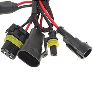 IDS Home 9006 6000K Xenon Super Vision Car Vehicle HID Headlamp - 12V (Pair)