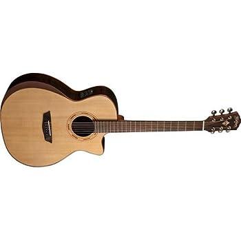 washburn usm wcg25sce comfort series acoustic electric guitar natural musical. Black Bedroom Furniture Sets. Home Design Ideas