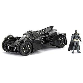 DC Comics Batman 2015 Arkham Knight Batmobile & Batman Metals Die-cast collectible toy vehicle with figure