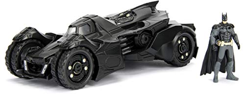 DC Comics Batman 2015 Arkham Knight Batmobile & Batman Metals Die-cast collectible toy vehicle with figure from Jada