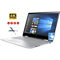 HP Envy X360 15t Convertible 2 in 1 Premium Laptop / Tablet PC (Intel Core i7-8550U 8th Gen, 20GB RAM, 1TB HDD + 512GB SSD, NVIDIA GeForce MX150 4GB, 15.6 4K UHD (3840x2160) Touchscreen, Win 10 Pro)
