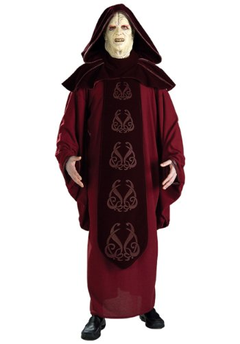 Rubie's Costume Men's Star Wars Supreme Edition Adult Emperor Palpatine and Mask, Multicolor, (The Emperor Star Wars Costume)