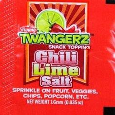 Twangerz Chili Lime Salt - 1.15 Oz Shakers - (20 Pack) by Twang (Image #1)