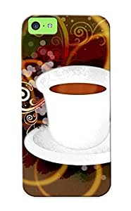 81fbf9d6451 Honeyhoney Coffee Durable Iphone 5c Tpu Flexible Soft Case With Design