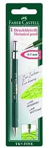 Faber-Castell 135698 TK-Fine 9715 - Portaminas, grosor de las minas: 0,5 mm, tubo de color verde