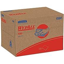 WypAll 41041 X80 Cloths, BRAG Box, HYDROKNIT, Blue, 12 1/2 x 16 4/5 (Case of 160 Wipers)