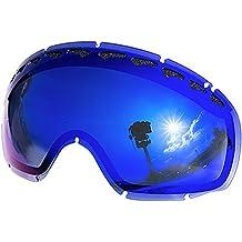 Zero Replacement Lenses For Oakley Crowbar Snow Goggle Blue Mirror by Zero