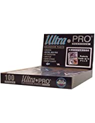 Ultra Pro 4-Pocket Platinum Page with 3-1/2