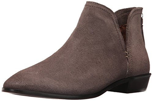 Kenneth Cole Reactie Dames Loop Daar Is Het Platte Inkeping Suede Enkellaarsje Beton