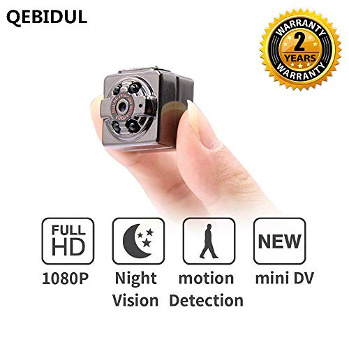 QEBIDUL SQ8 Mini Camera 1080p 720p Full HD Dash Cam Night Vision Home Infrared Aluminum Digital Video Recorder