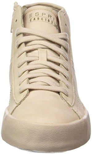Beige Hautes Mandy Sneakers Skin Esprit Femme wXqOUv