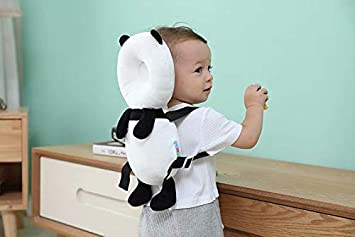 HANBIN Almohadilla de protecci/ón para la cabeza del beb/é Almohadilla de seguridad para beb/és ajustable Almohada para reposacabezas para ni?os peque?os Caminantes para ni?os Cuello de protecci/ón para
