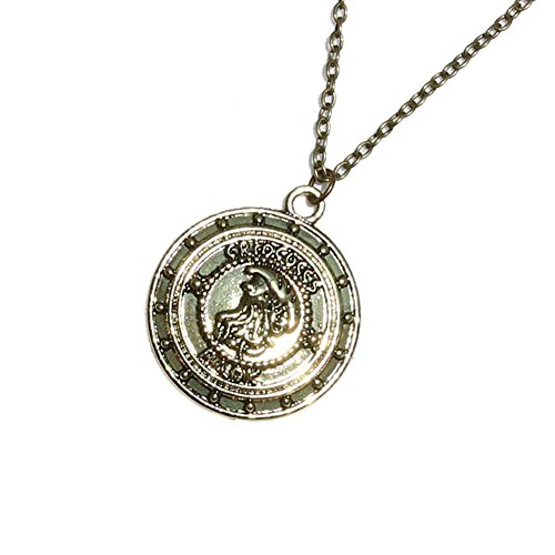 [Harry Potter Goblin Bank Vault Gringotts Coin Pendant Necklace] (Dobby Harry Potter Costumes)