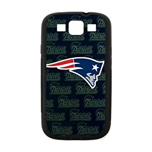Handsome Fashion Design New England Patriots Samsung Galaxy S3 I900 Case Cover (Laser Technology) by icecream design